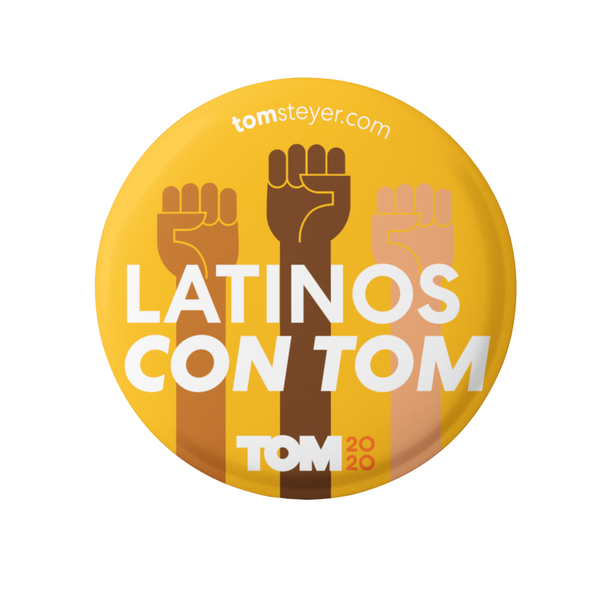 Latinos Con Tom Button