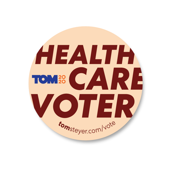 Healthcare Voter Sticker