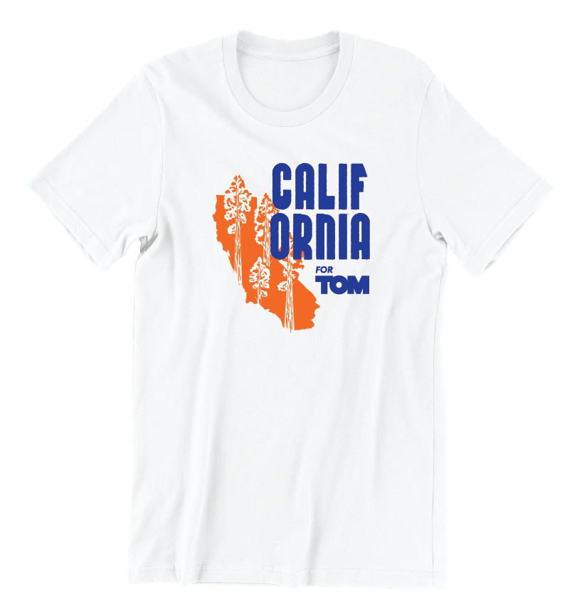 California for Tom T-Shirt