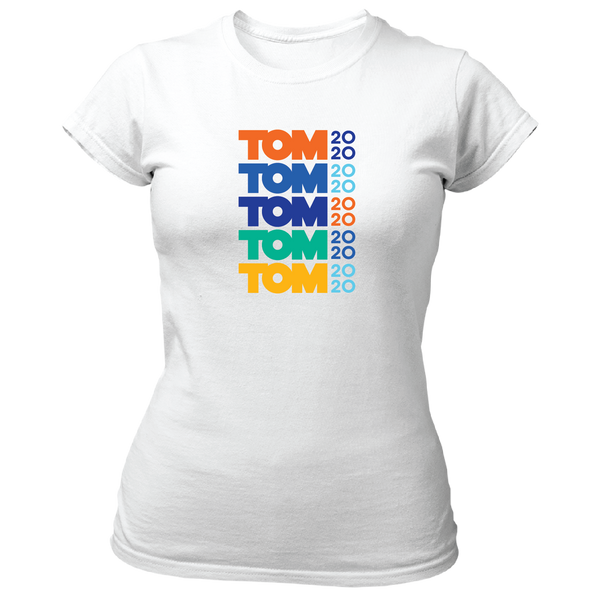 Tom 2020 Fitted Stacked Tee