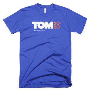 Tom 2020 Logo Tee - Royal Blue