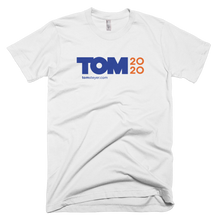 Load image into Gallery viewer, Tom 2020 Logo Tee - White