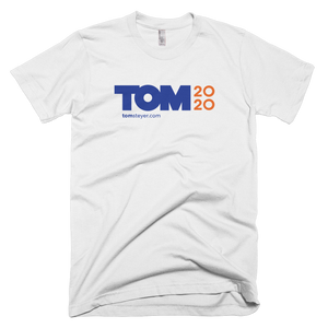 Tom 2020 Logo Tee - White