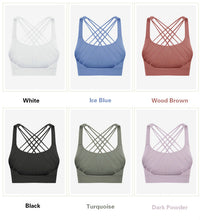 Load image into Gallery viewer, Power Cross Back Sports Bra