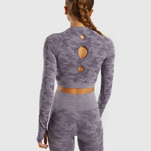 Load image into Gallery viewer, Camo - Long Sleeve Top