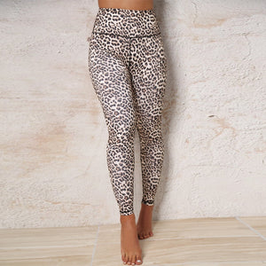 Butt-Lift Leopard Print Leggings