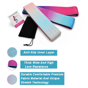 Rainbow Anti-Slip Resistance Bands