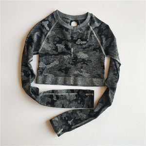 Camo - Long Sleeve Top