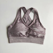 Load image into Gallery viewer, Camo - Sports Bra