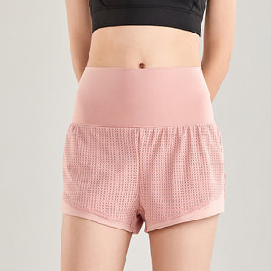 Mesh 2-in-1 Hidden Pocket Shorts