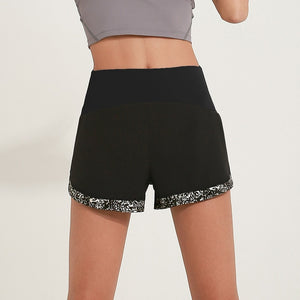 Reflective Running Shorts With Hidden Pocket