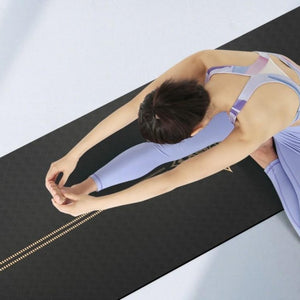 Premium Metallic Yoga Mat