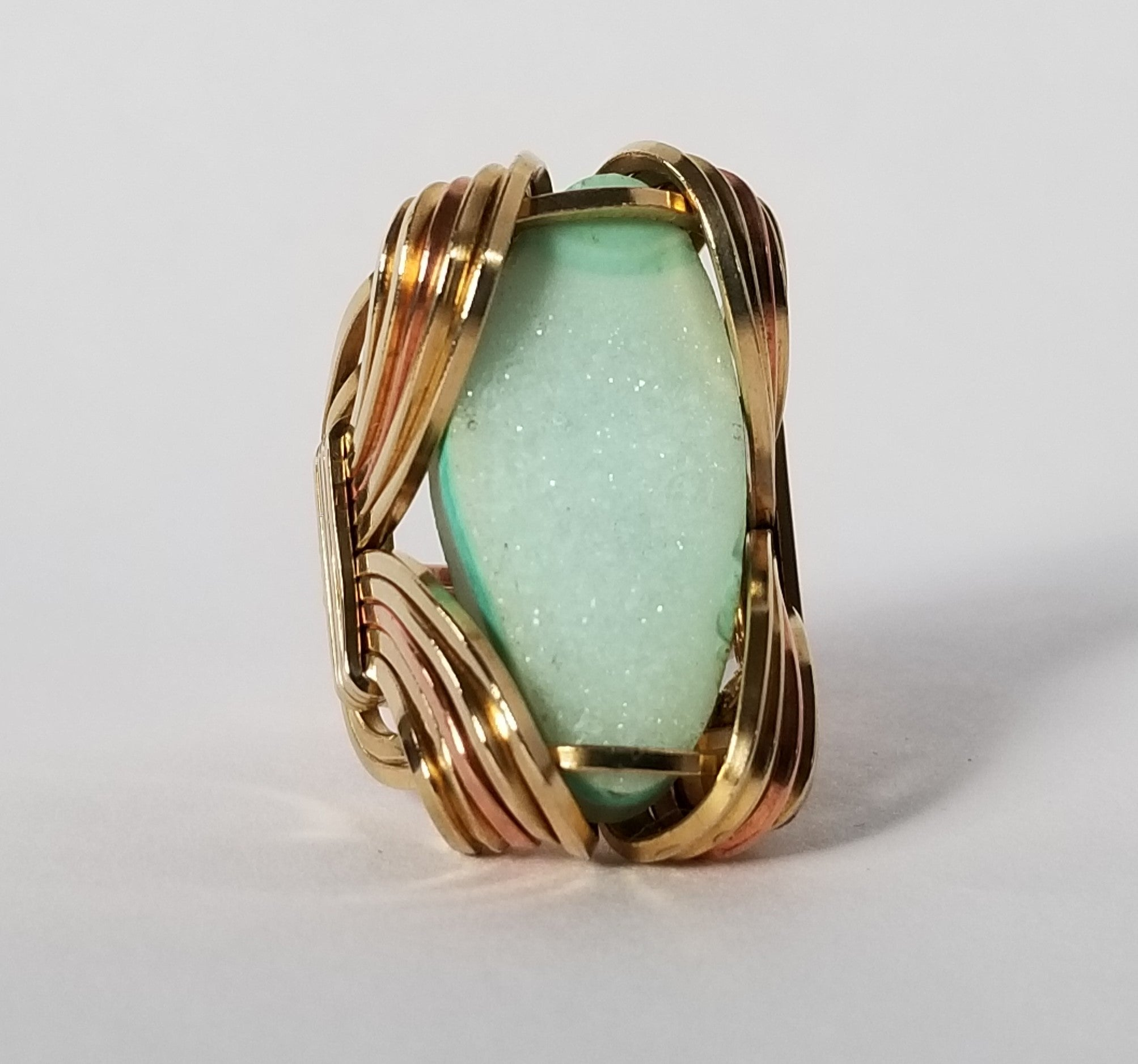 Pharaoh Ring | Brass Copper