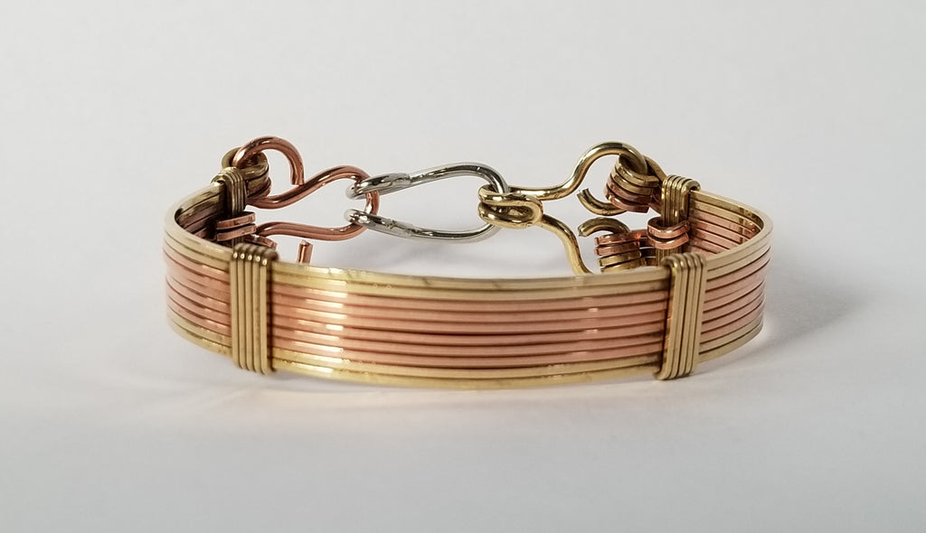Elite Bracelet | Brass Copper