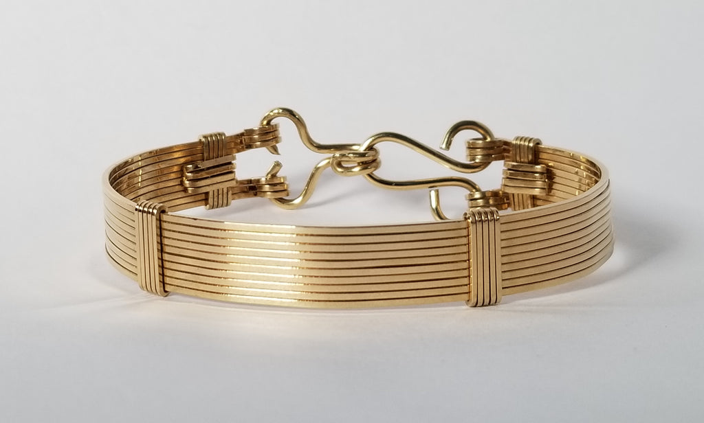 Elite Bracelet | Brass