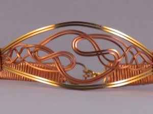 Celtic Bangle | Copper, Brass