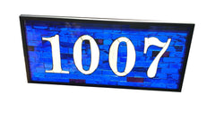 Custom House Number Window