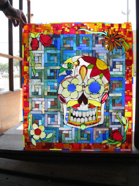 CUSTOM Stained Glass Mosaic