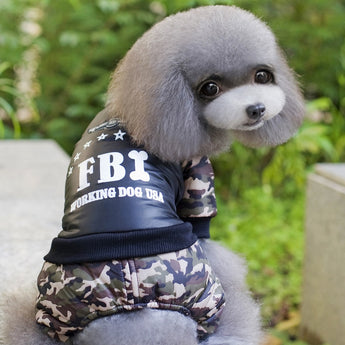 Cool FBI Jumpsuit