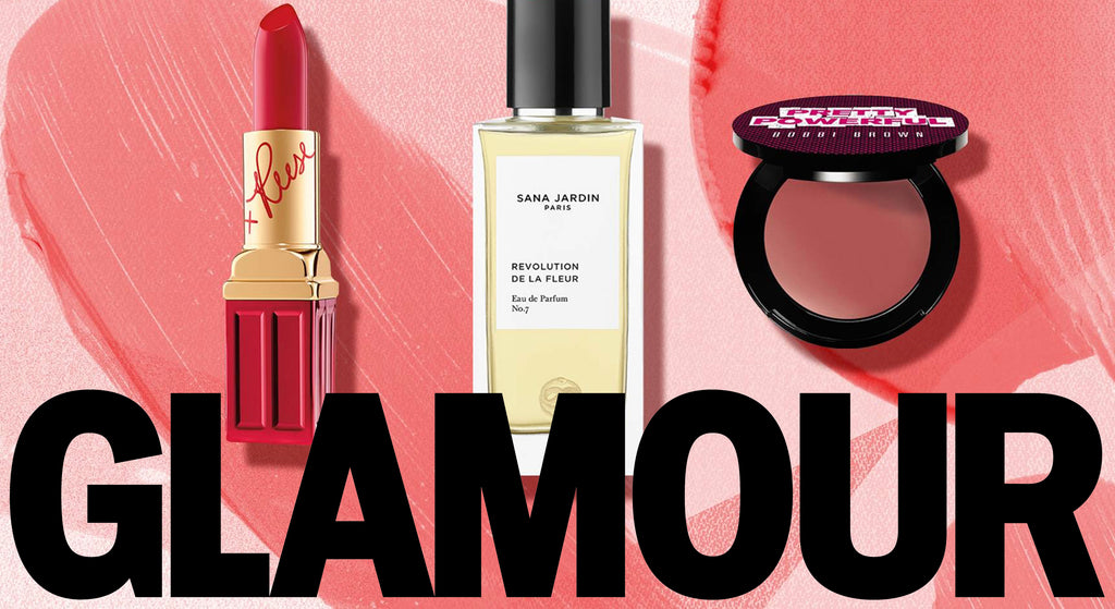 GLAMOUR: OUT FAVOURITE BEAUTY PRODUCT HEROS THAT GIVE BACK TO EMPOWER WOMEN