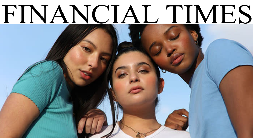 FINANCIAL TIMES: THE CLEAN BEAUTY BOOM