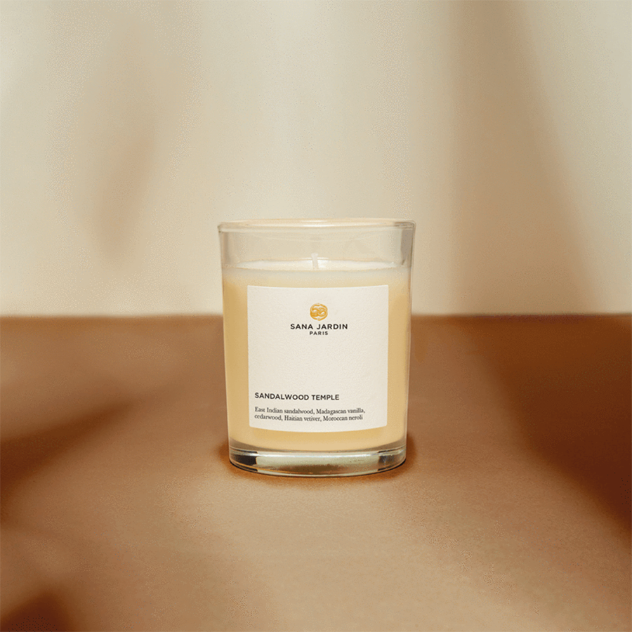 Sandalwood Temple Scented Candle