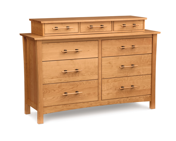 Monterey 6 Drawer Dresser and Accessory Case