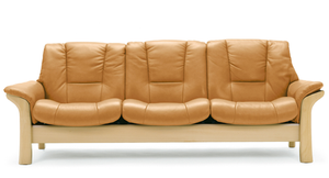 Stressless Buckingham Lowback Sofa 3 Seater