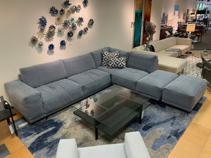 Tender Sectional and Ottoman