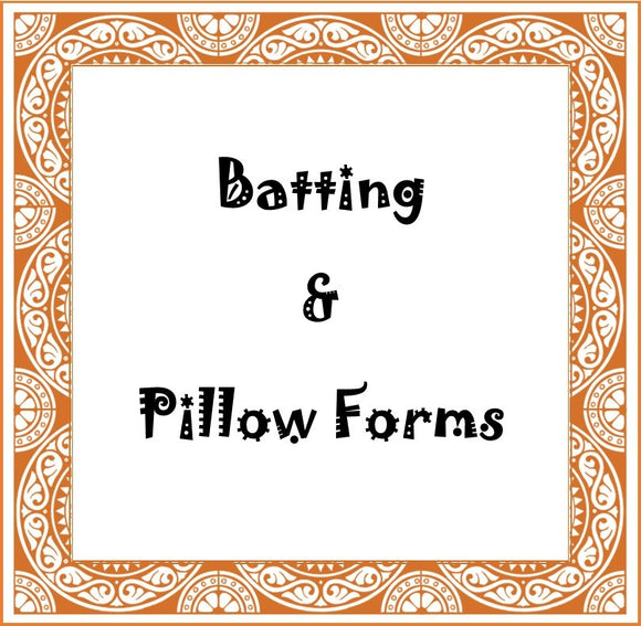 Batting & Pillow Forms