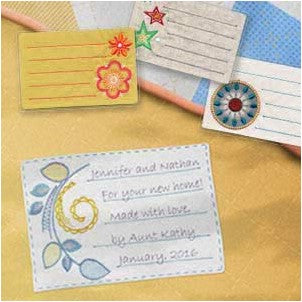 OESD Memorable Quilt Labels 12621CD