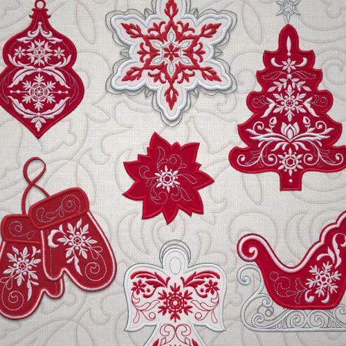 OESD Winter Wonderland Appliques & Quilting 12767CD
