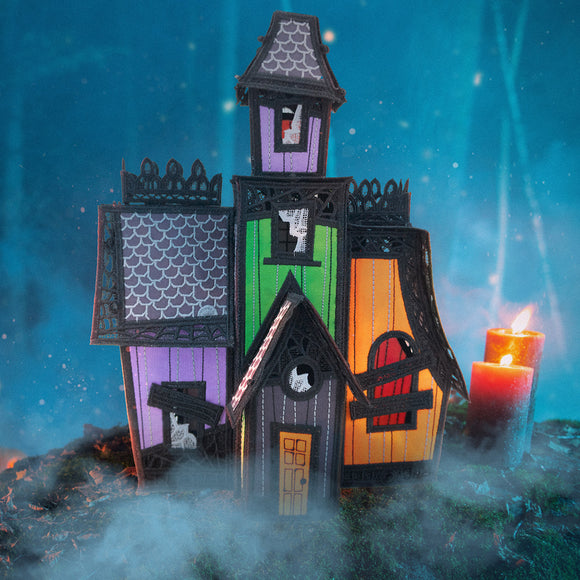 OESD Freestanding Haunted Mansion 12830CD