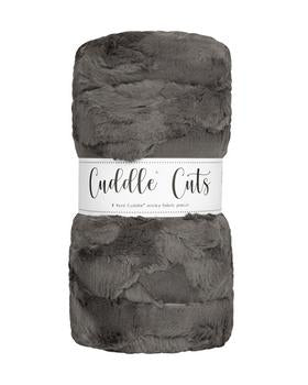 2 Yard Luxe Cuddle Cut Hide Charcoal