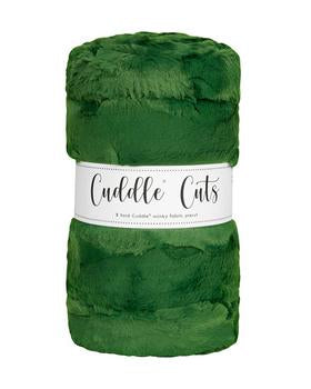 2 Yard Luxe Cuddle Cut Hide Evergreen