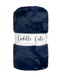 2 Yard Luxe Cuddle Cut Hide Navy