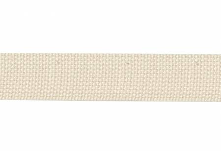Cotton Webbing 1.5 inch by the yard Natural