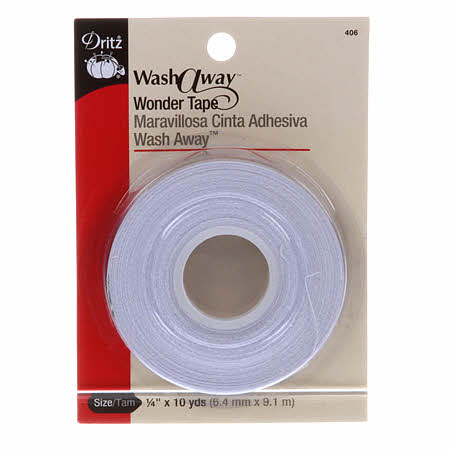 Dritz Wonder Tape Wash Away 1/4