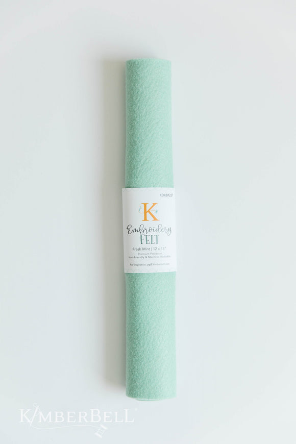 Kimberbell Embroidery Felt Fresh Mint