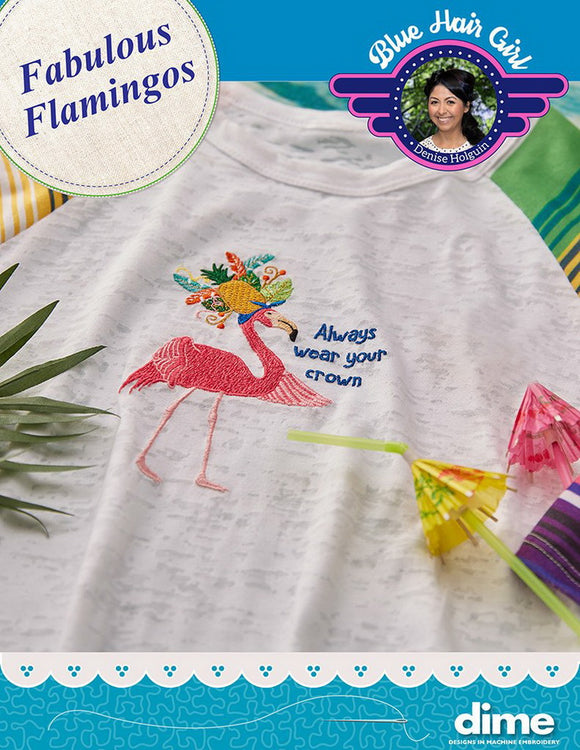 DIME Fabulous Flamingos CLOSEOUT!