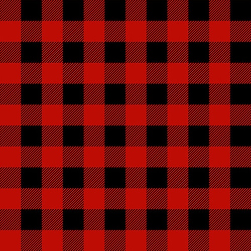 Flannel Gnomes Buffalo Plaid Red/Black