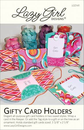 Gifty Card Holders by Lazy Girl Designs