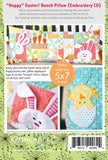 Kimberbell Hoppy Easter Bench Pillow Machine Embroidery CD KD571