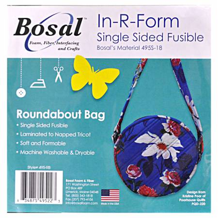 Bosal In-R-Form Single Sided Fusible Roundabout Bag