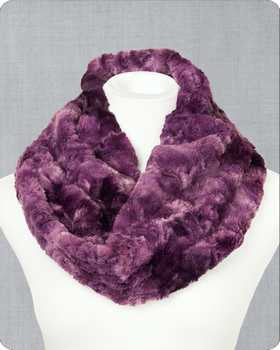 Infinity Scarf Cuddle Kit Galaxy Plum
