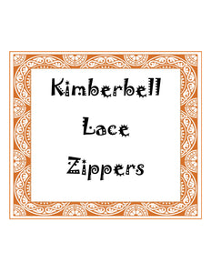 Kimberbell Lace Zippers