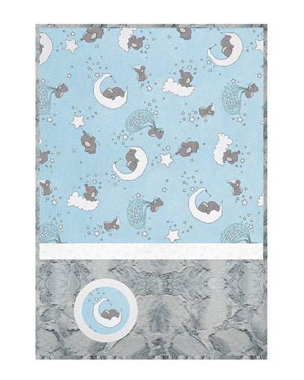 Lullaby Cuddle Kit Lucky Star Blue