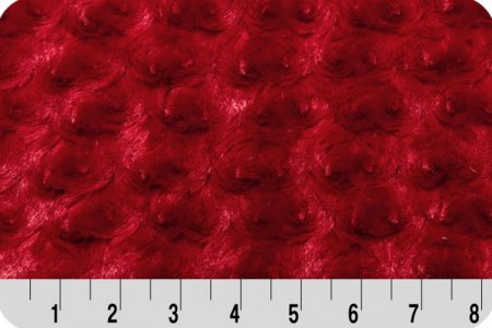 Shannon Luxe Cuddle Rose Red