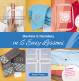DIME Machine Embroidery In Easy Steps CLOSEOUT!