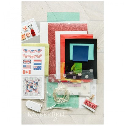 Kimberbell Main Street Celebration-Embellishment Kit